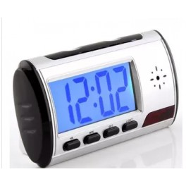 Alarm Clock DVR Video Camera Spy CAM Hidden SecurityMotionDetection Recorder